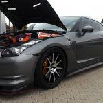 Nissan GTR 35 Leistungsmessung vor Ort