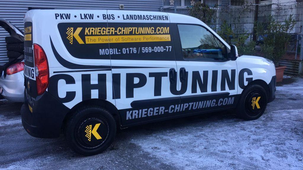 Chip-Tuning vor Ort - Vor Iher Haustür