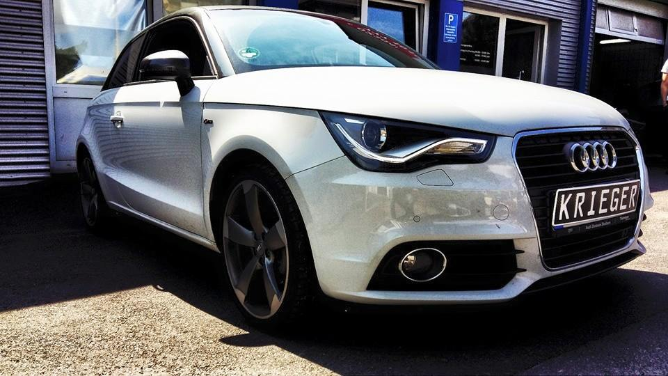 audi a1 1 4 tfsi chip tuning in nrw. Black Bedroom Furniture Sets. Home Design Ideas
