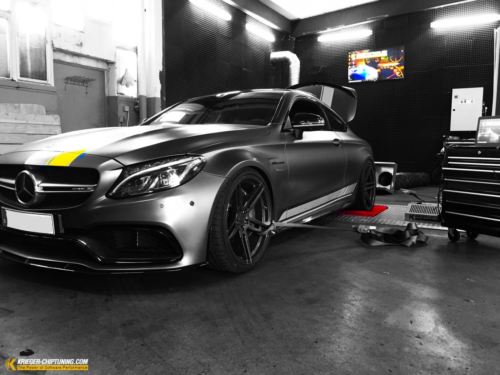 AMG C63s EDITION1 - Chip-Tuning in NRW